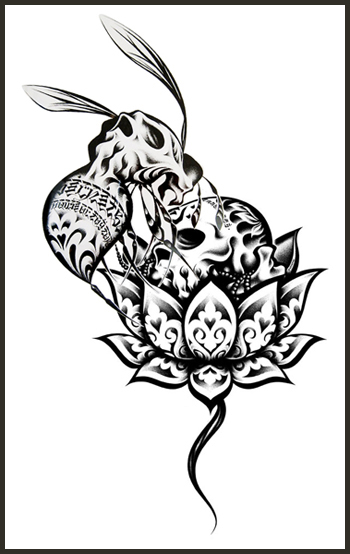 Free Tattoo Flash Outlines | Free Tattoo Flash Tattoo Stencil