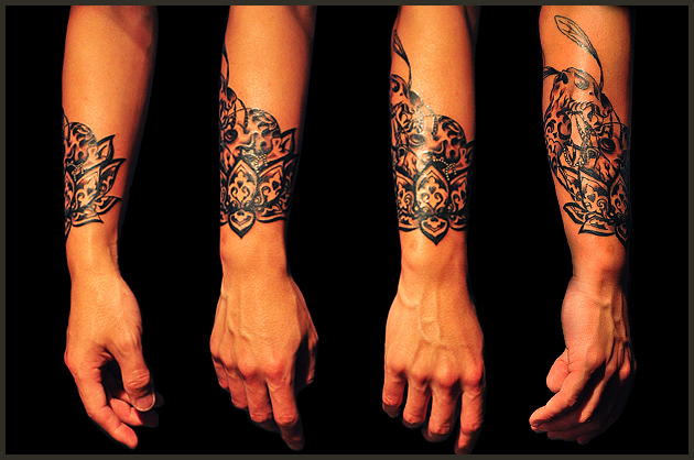 tattoos on hands and wrists for girls. Neck tattoo is a very complex,